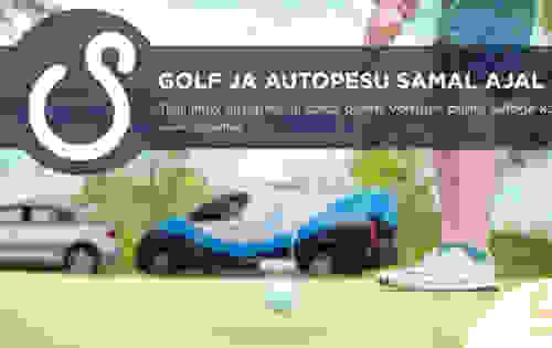 Rae Golf astub partnerlusse UpSteam liikuva autopesuga!