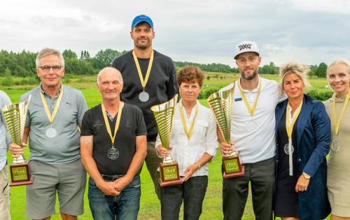 Rae Golfiklubi klubiliikmete toetus EGL võistlustel